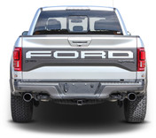 VELOCITOR TAILGATE : Ford Raptor Rear Tailgate Text Decals Letter Stripes Vinyl Graphics Kit 2018 2019 2020 (M-PDS-6176)