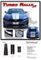 2019 2020 Camaro Racing Stripes TURBO RALLY 19 : Chevy Camaro Hood Decals Center Rally Vinyl Graphics Kit - Details