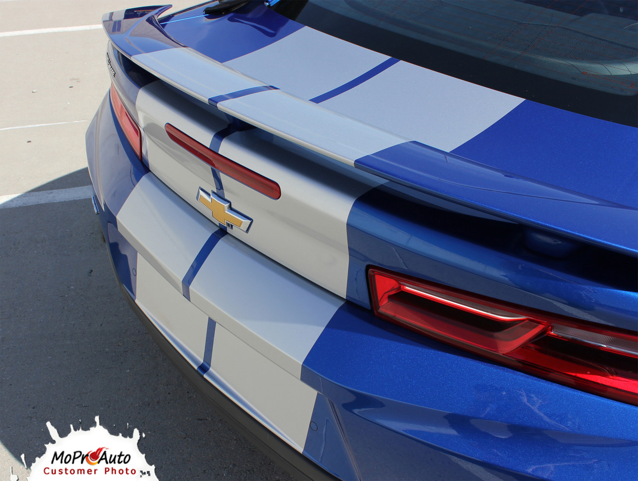 2019 Camaro Racing Stripes TURBO RALLY 19 : Chevy Camaro Hood Decals Center  Rally Vinyl Graphics Kit
