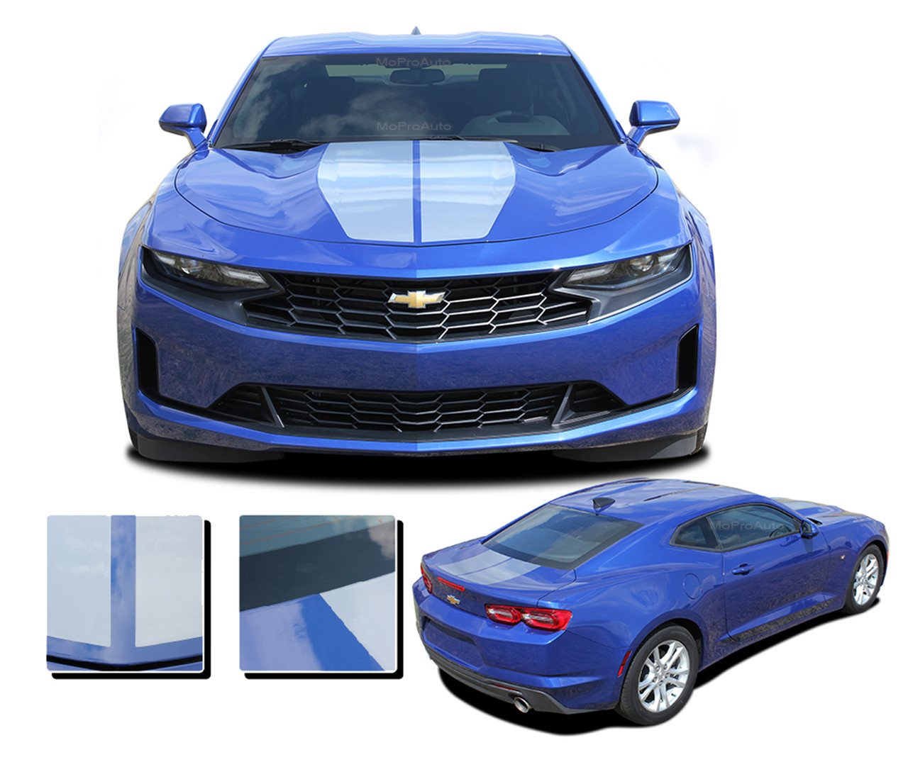2019 2020 2021 Camaro Racing Stripes Rev Sport Chevy Camaro Hood Decals Rally Vinyl Graphics Kit Moproauto Professional Vinyl Graphics And Striping