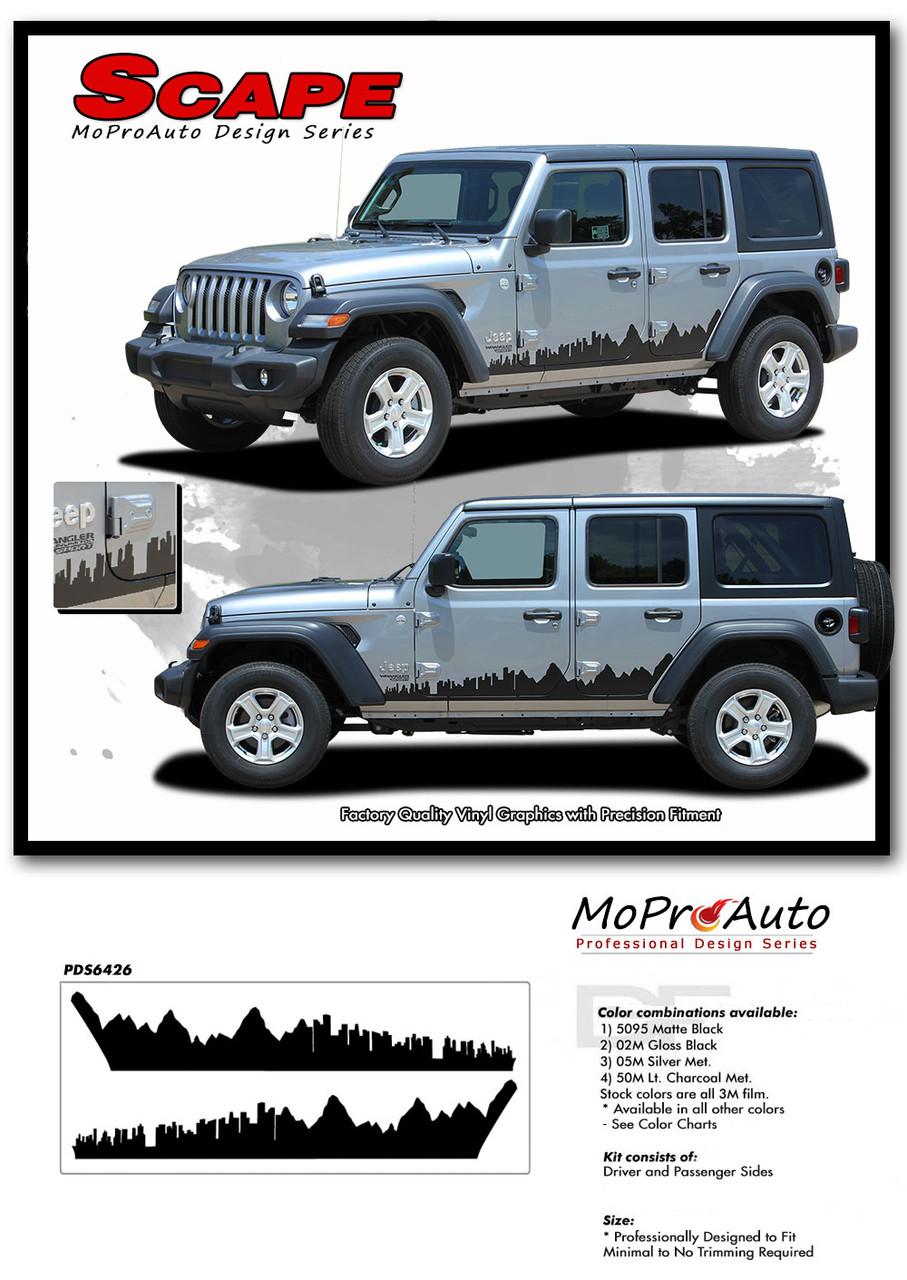Scape Jeep Wrangler Jl Side Door Vinyl Graphics City