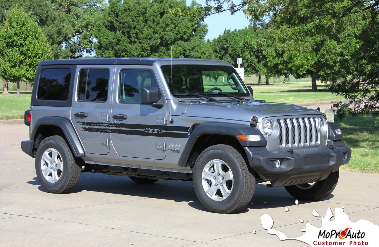 Jeep Wrangler Decals, Jeep Wrangler Stripes, Wrangler Graphics