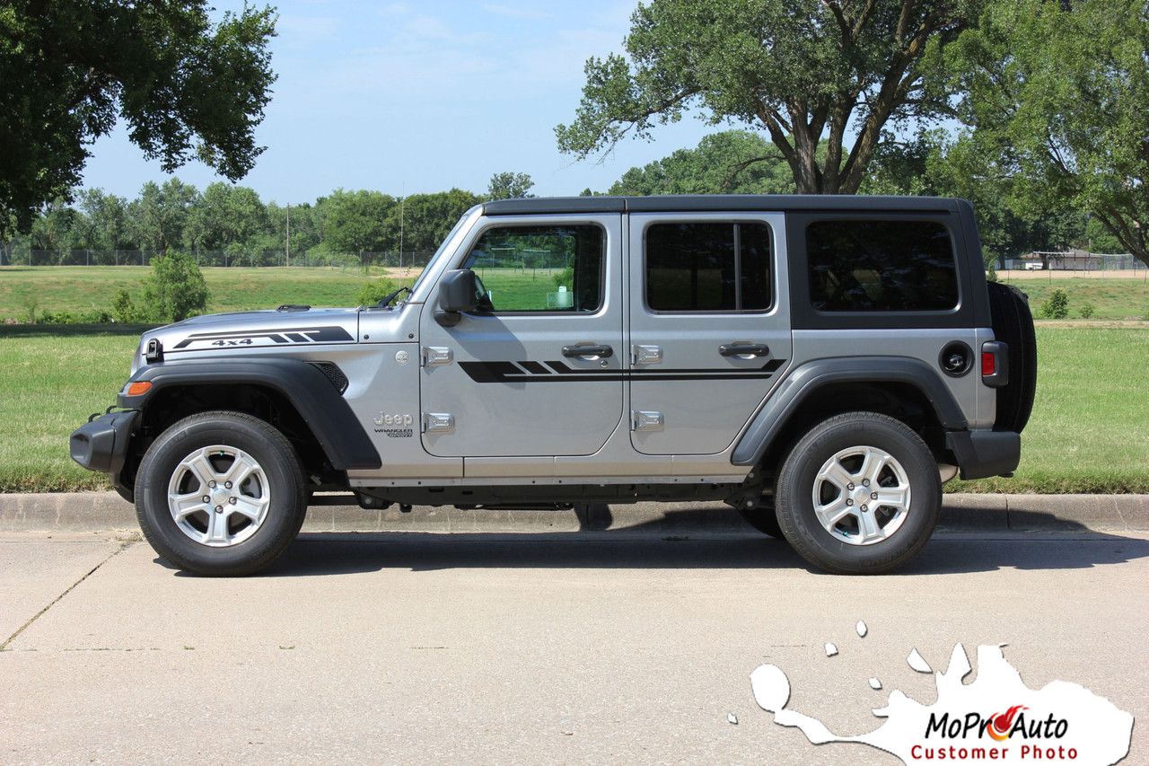 Jeep Wrangler Decals, Jeep Wrangler Stripes, Wrangler Graphics