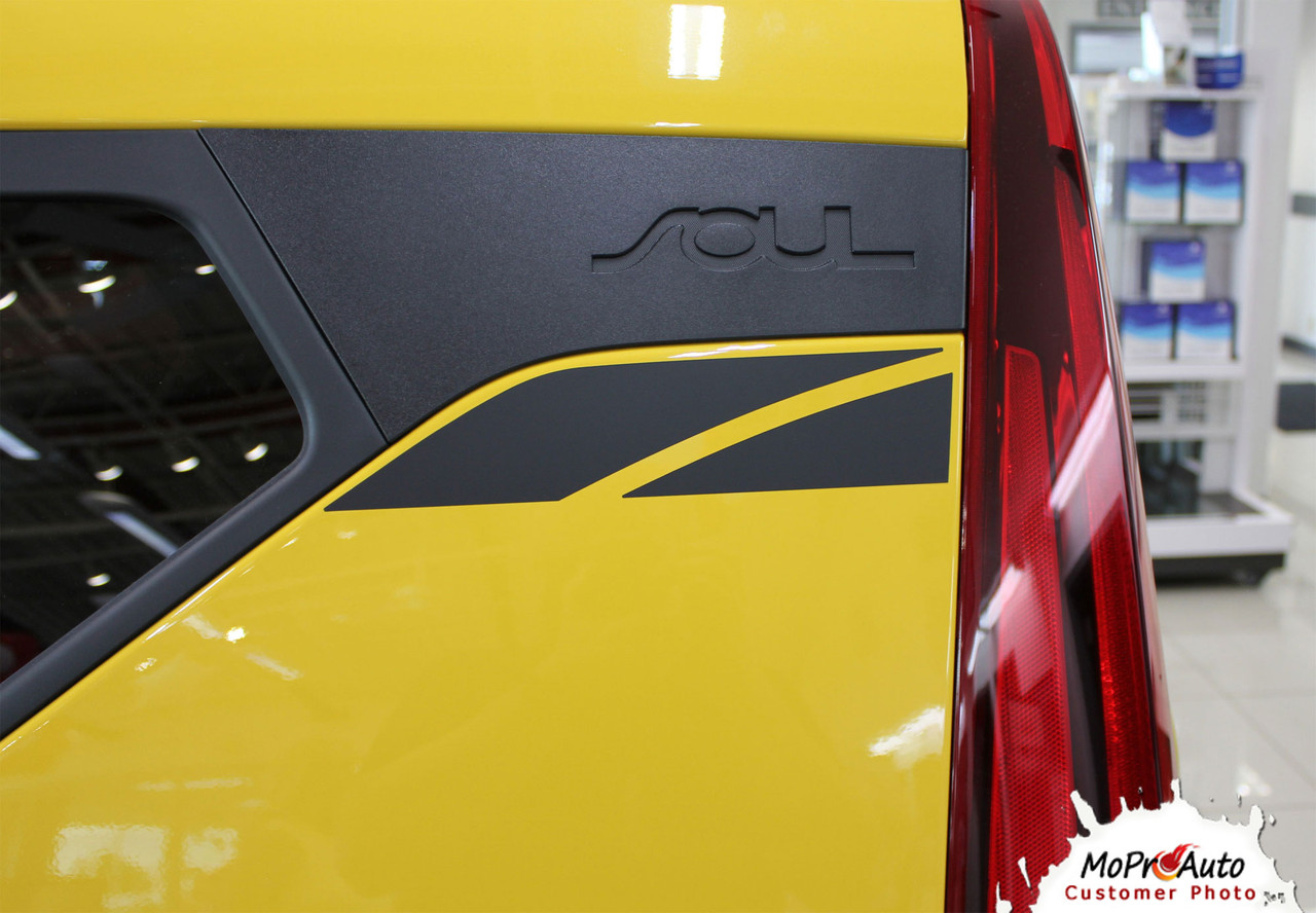 2020 2021 OVERSOUL Kia Soul Decals - MoProAuto Pro Design Series Vinyl Graphics, Stripes and Decals Kit