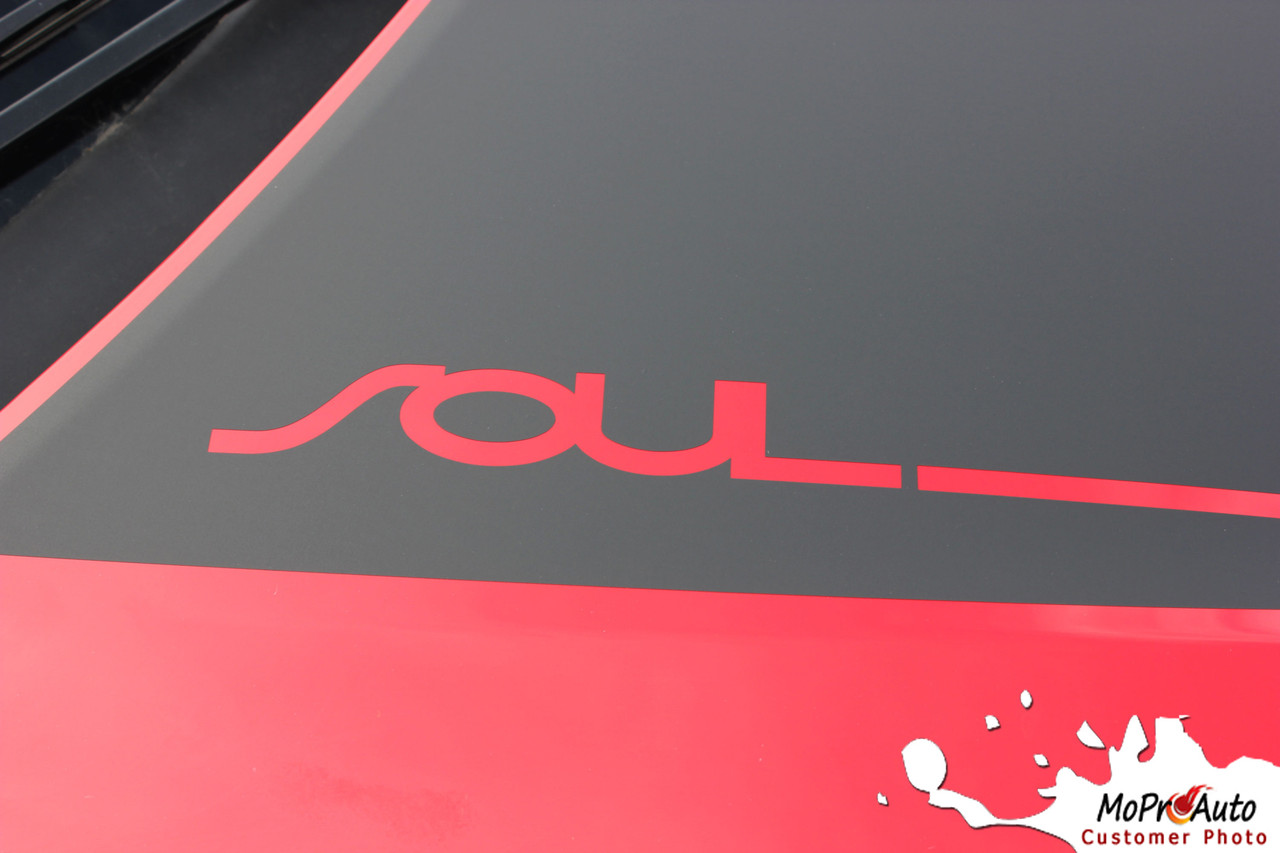 2020 2021 SOULED Kia Soul Decals - MoProAuto Pro Design Series Vinyl Graphics, Stripes and Decals Kit
