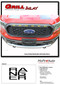 RANGER GRILL LETTERS : Ford Ranger Grill Decals Name Vinyl Graphics Kit fits 2019 2020 - Details