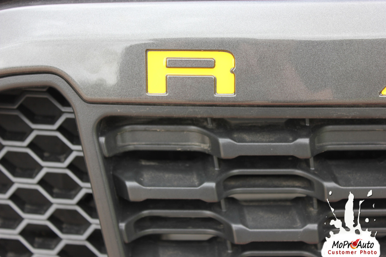RANGER GRILL LETTERS : Ford Ranger Grill Decals Name Vinyl