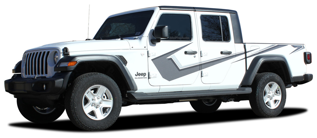 paramount digital  jeep gladiator side body vinyl