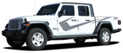 PARAMOUNT DIGITAL PRINT : Jeep Gladiator Side Body Vinyl Graphics Decal Stripe Kit for 2020-2021 Models (M-PDS-6718)
