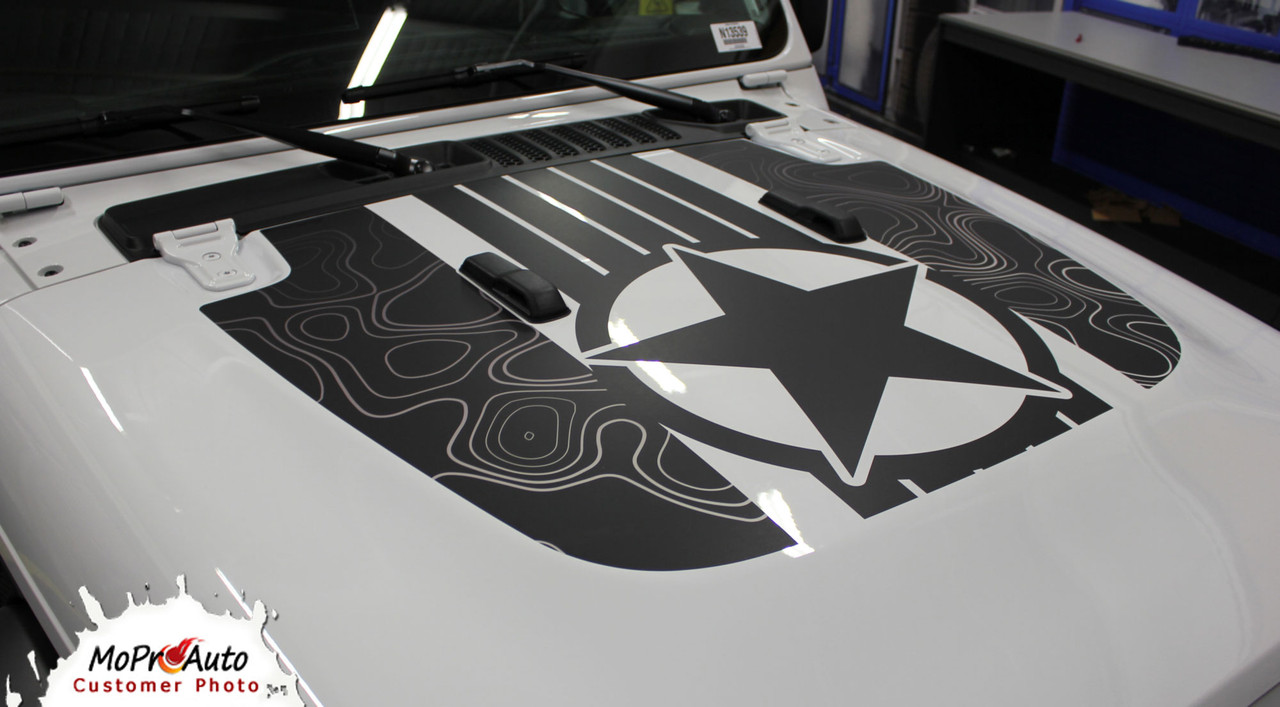 Jeep Gladiator Decals, Jeep Gladiator Stripes, Gladiator Graphics