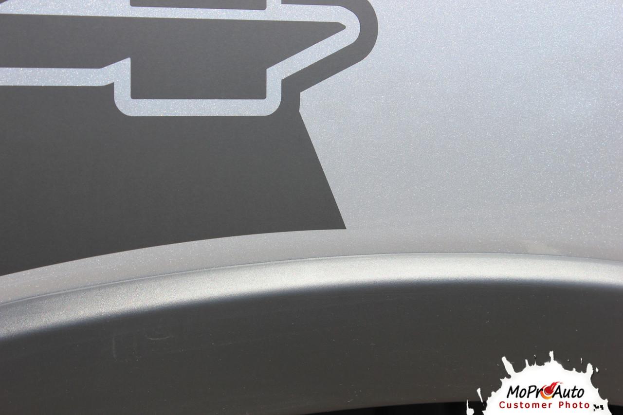 REVOLUTION SIDES Dodge Ram Rebel Side Bed Decals, 2019 2020 Dodge Ram Bed Stripes Vinyl Graphics Kit