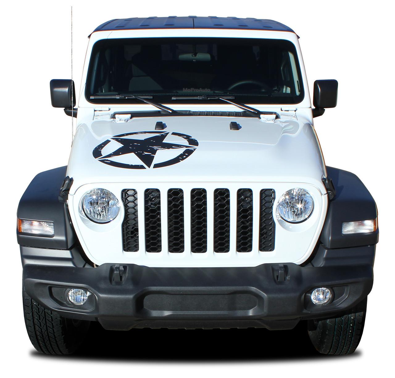 legend star hood  jeep gladiator hood graphics with