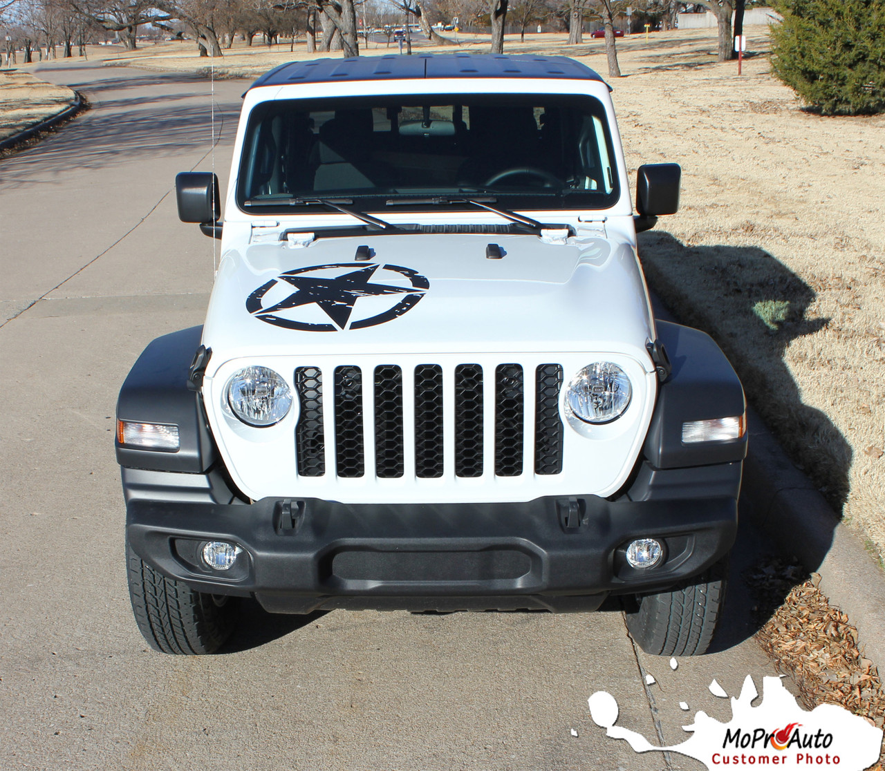 Jeep Gladiator Hood Decals, Jeep Gladiator Stripes, Gladiator Graphics