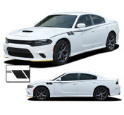 FIERCE : Dodge Charger Body Stripes Side Door Decals Vinyl Graphics fits 2015-2021 (M-PDS-7145)