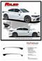 RILED : Dodge Charger Body Stripes Side Door Decals Vinyl Graphics fits 2015-2020 - Details