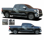 AXIS : Toyota Tundra Side Door Decals Body Vinyl Graphics Stripe Kit for 2015-2021 Models (M-PDS-7207)