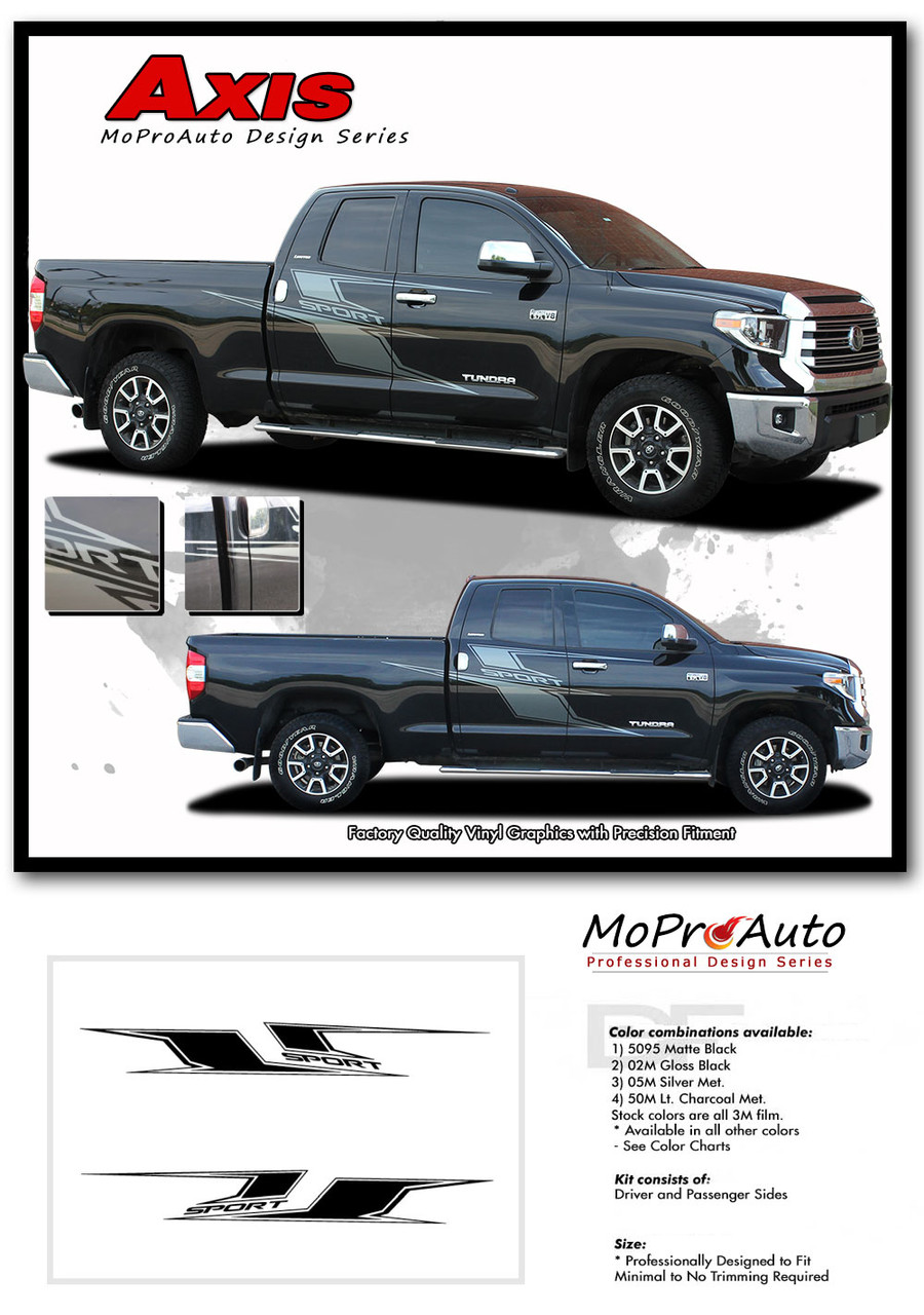 AXIS TOYOTA TUNDRA Pro Vinyl Graphics Stripes and Decals Kit