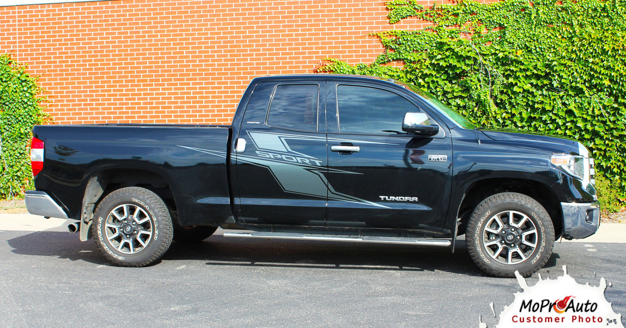 AXIS Toyota Tundra  Body Accent Striping Vinyl Graphic Decal Kit