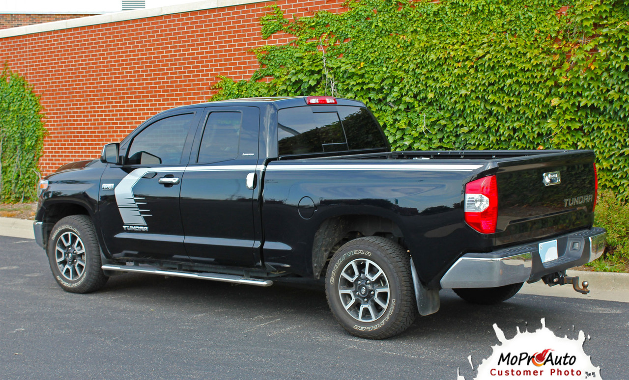 TEMPEST Toyota Tundra  Body Accent Striping Vinyl Graphic Decal Kit