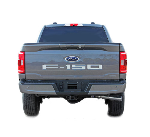 F-150 TAILGATE LETTERS : 2021 Ford F-150 Rear Tailgate Text Decals Letter Stripes Vinyl Graphics (M-PDS-7476)