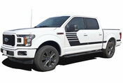 LEAD STROBE : Ford F-150 Stripes Decals Special Edition Lead Foot Appearance Package Hockey Stripe Vinyl Graphics 2015, 2016, 2017, 2018, 2019, 2020 (M-PDS-5223)