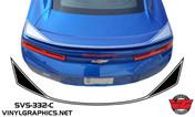2016 Camaro Full Pinstripe Spoiler Stripe
