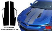 2016 Camaro Hood Accent Rally Stripe Kit