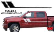 2013-2016 Chevy Silverado Side Racing Accent Stripes
