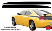 2006-2010 Dodge Charger Solid Rear Quarter Panel Graphics