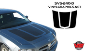 2006-2010 Dodge Charger U-Hood Graphic