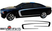 2011-2014 Dodge Charger Body C-Line Stripe