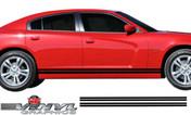 2011-2014 Dodge Charger Lower Rocker Panel Stripe