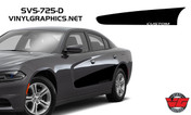 2015 Dodge Charger Partial Solid Side Inserts