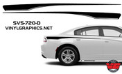 2015 Dodge Charger Pinstripe Rear Quarter Panel Accent Stripes