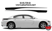 2015 Dodge Charger Solid Rear Quarter Panel Accent Stripes
