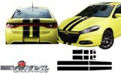 2013-2016 Dodge Dart Pinstripe Rally Stripe Kit