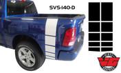 2015-16 Dodge Ram Strobe Bed Band Stripes