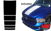 2015-16 Dodge Ram Strobe Hood Stripe