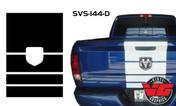 2015-16 Dodge Ram Tailgate Strobe Stripe
