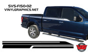 2016 Ford F-150 Side Accent Stripes
