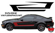 05-09 Mustang Solid Muscle Stripes