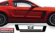 2013 Mustang Factory Style Side Stripes