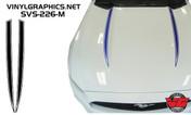 2015 Ford Mustang Pinstripe Hood Spears
