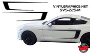 2015 Ford Mustang Pinstripe Reversible Side C-Stripes