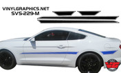 2015 Ford Mustang Pinstripe Side Accent Stripes