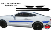 2015 Ford Mustang Solid Side Accent Stripes