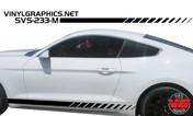 2015 Ford Mustang Strobe Rocker Panel Stripes