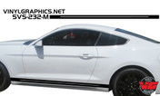 2015 Ford Mustang Voided Rocker Panel Stripes
