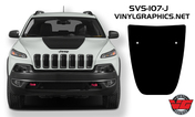 2014-16 Jeep Cherokee Hood Blackout Graphic