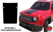 Jeep Renegade Hood Blackout Graphic